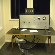 Rod Dickinson in collaboration with Graeme Edler and Steve Rushton, The Milgram Re-enactment (2004) | Installation view